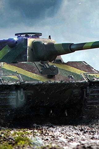 Классные картинки танков на заставку телефона - скачать бесплатно 14