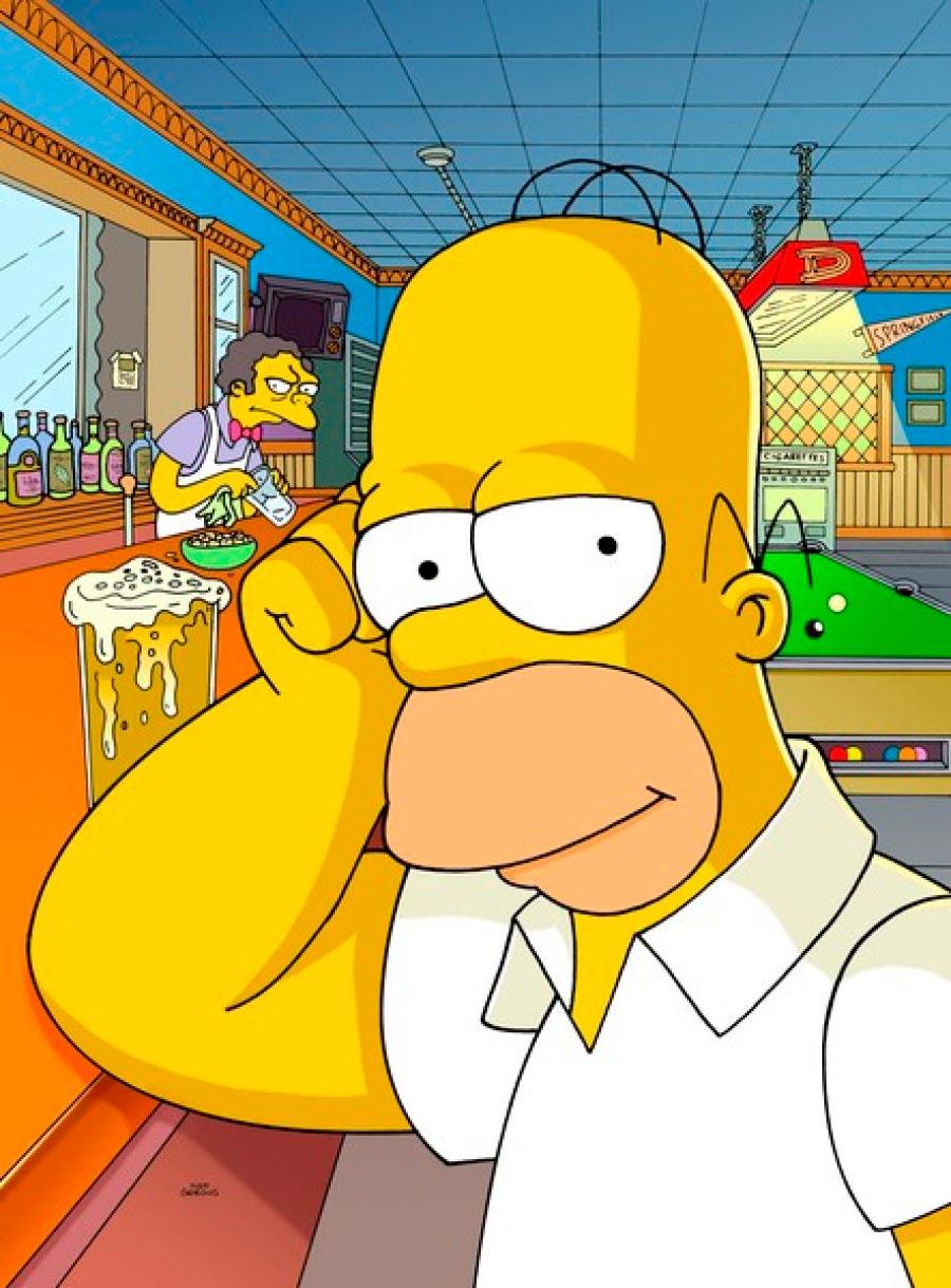 Прикольные картинки Гомера Симпсона - подборка 20 фото 10