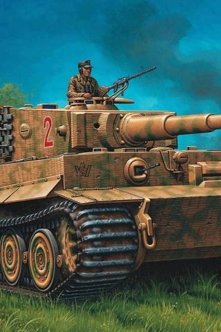 Классные картинки танков на заставку телефона - скачать бесплатно 4