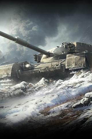 Классные картинки танков на заставку телефона - скачать бесплатно 6