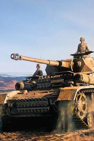 Классные картинки танков на заставку телефона - скачать бесплатно 5