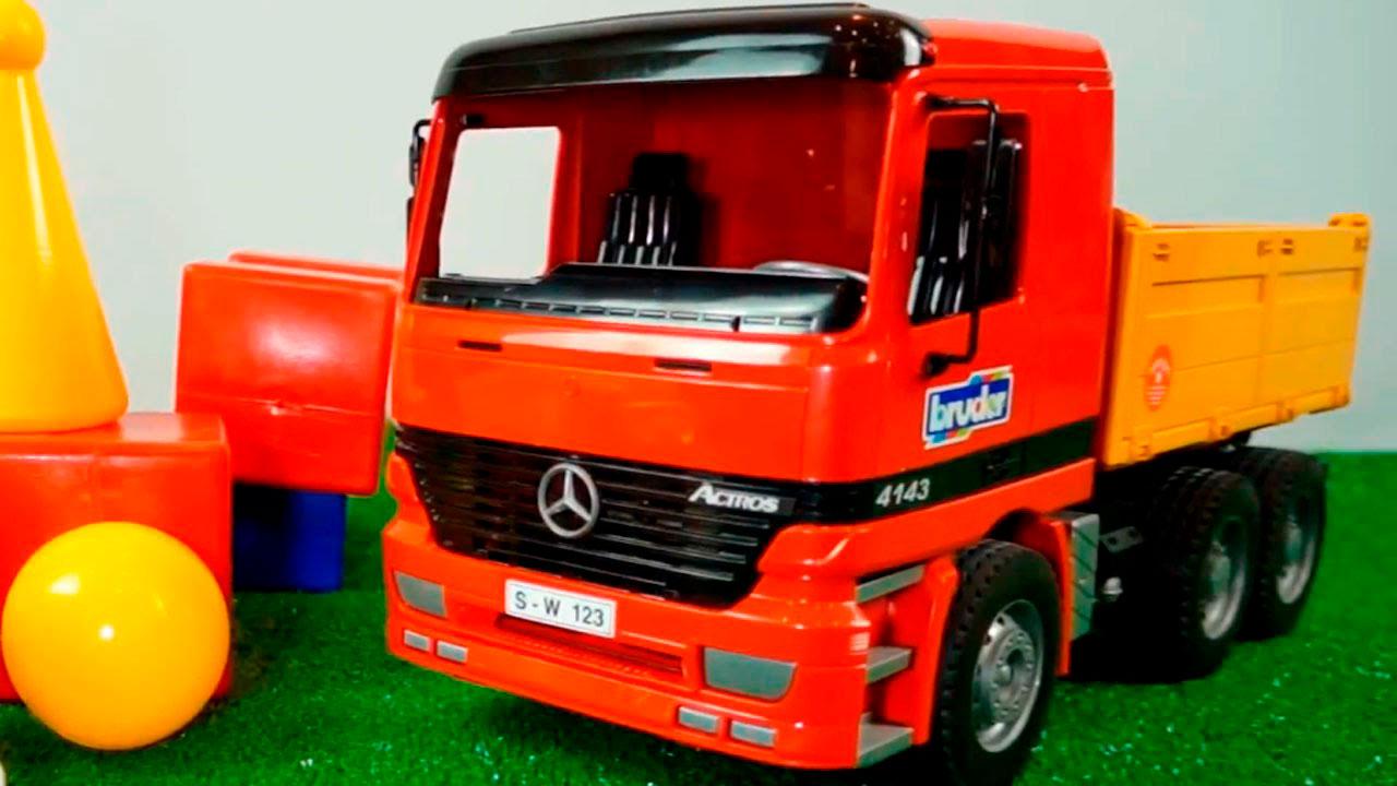 Красивые картинки грузовик для детей - подборка 15 штук 13