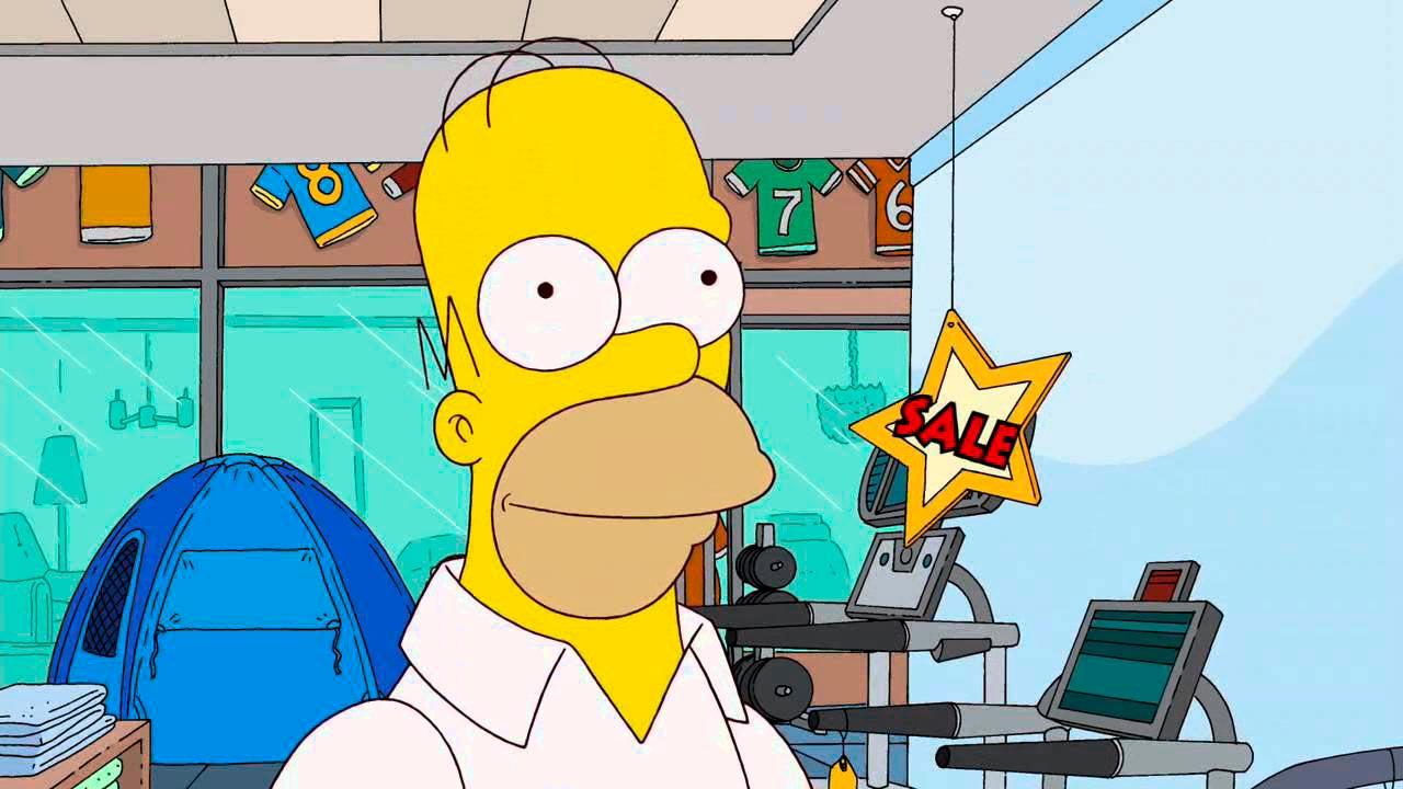 Прикольные картинки Гомера Симпсона - подборка 20 фото 16