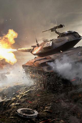 Классные картинки танков на заставку телефона - скачать бесплатно 7