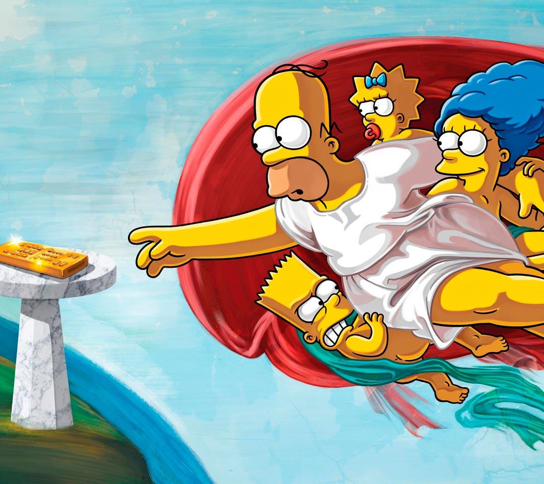 Прикольные картинки Гомера Симпсона - подборка 20 фото 18