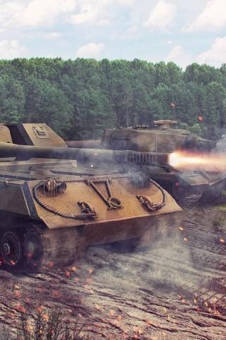 Классные картинки танков на заставку телефона - скачать бесплатно 8