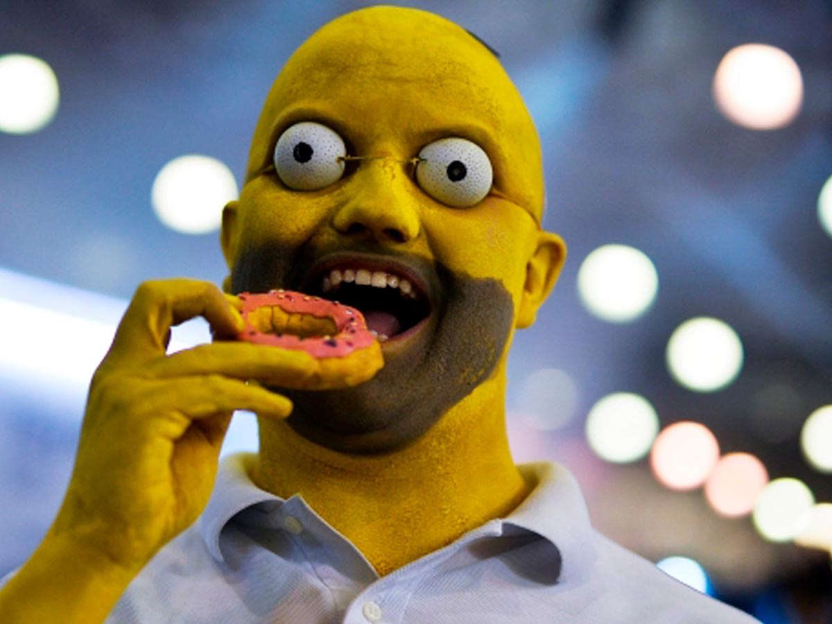 Прикольные картинки Гомера Симпсона - подборка 20 фото 20