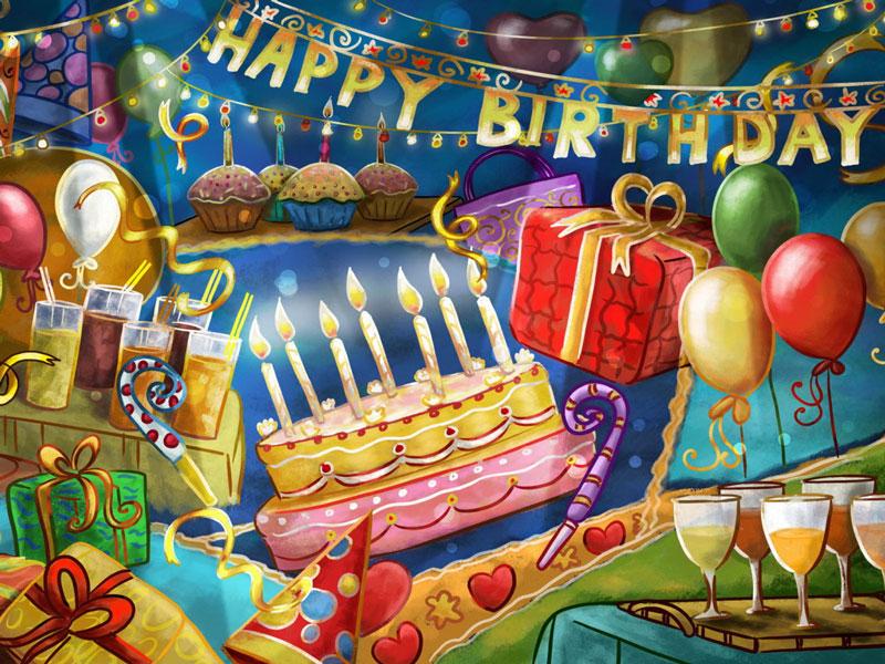 Открытки, картинки с Днем Рождения мальчику - подборка 10