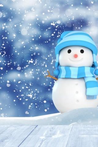 Новогодние картинки зимы 2019 на телефон на заставку 10