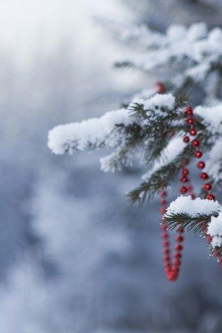 Новогодние картинки зимы 2019 на телефон на заставку 11