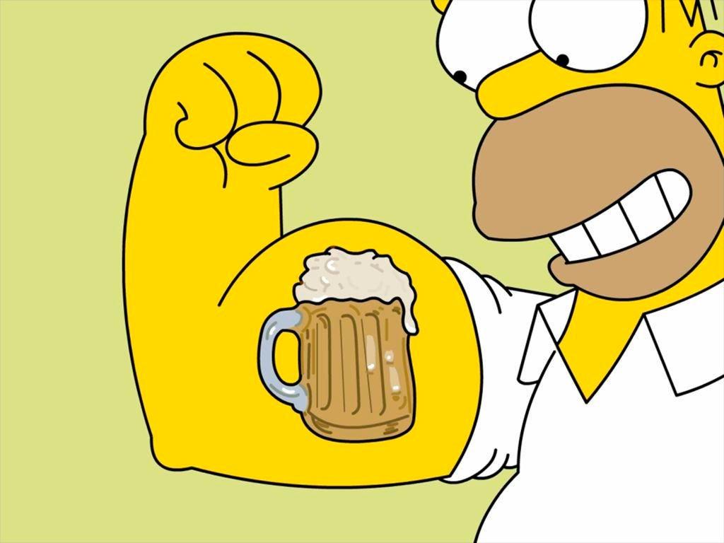 Прикольные картинки Гомера Симпсона - подборка 20 фото 22