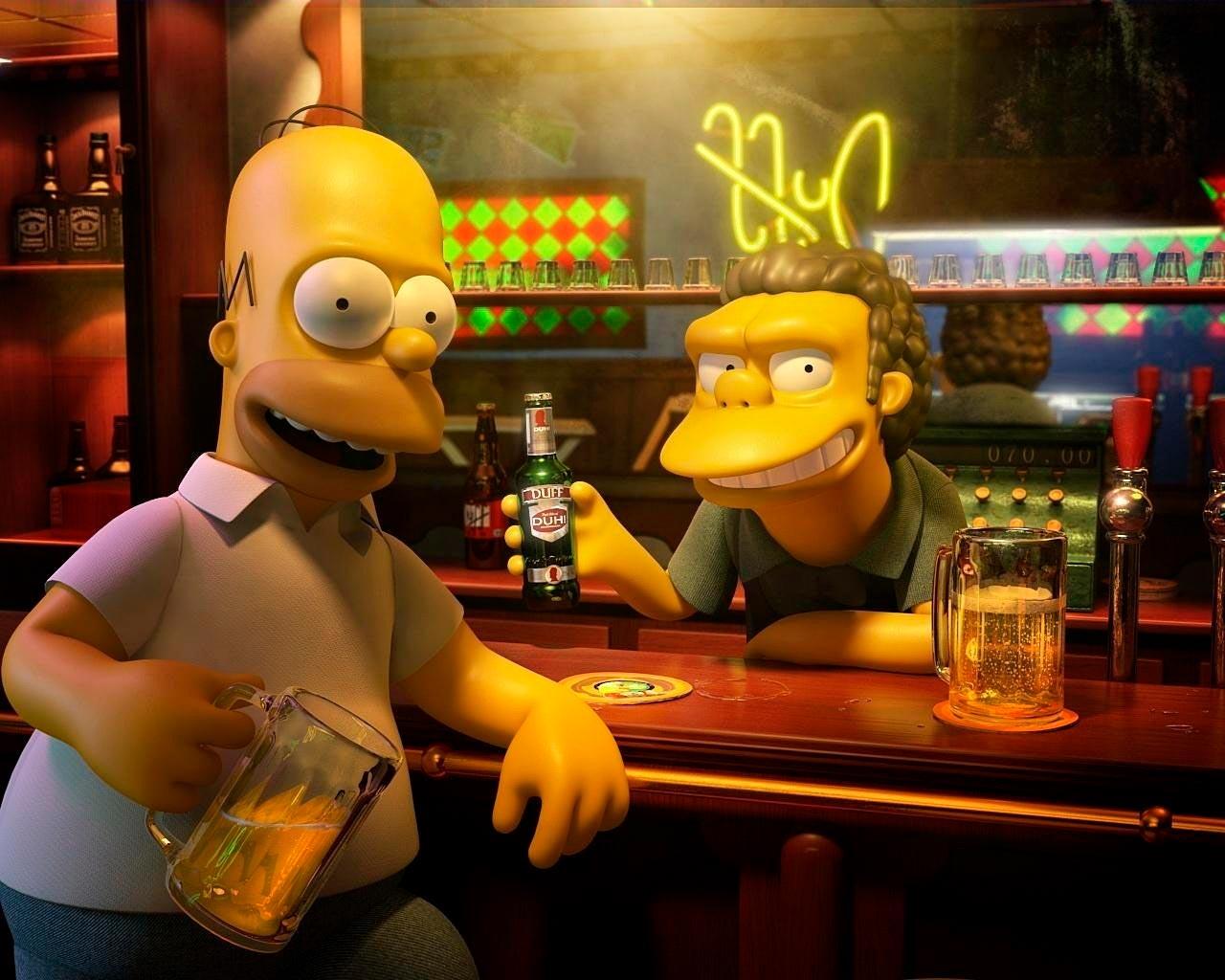 Прикольные картинки Гомера Симпсона - подборка 20 фото 23