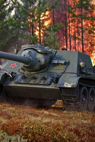 Классные картинки танков на заставку телефона - скачать бесплатно 15