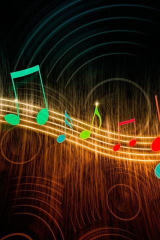 Классные картинки музыки на заставку телефона - подборка 2018 4