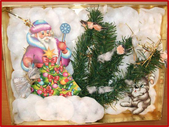 Рождественские украшения своими руками - инструкция 1