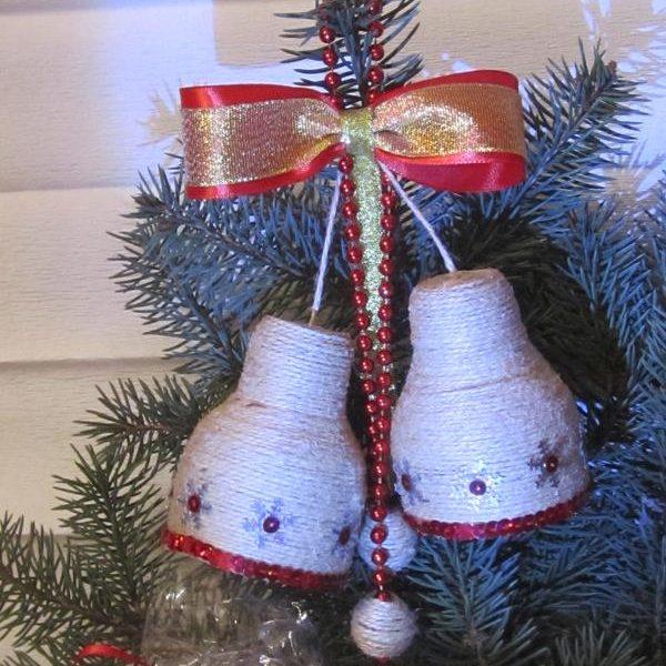 Рождественские украшения своими руками - инструкция 2