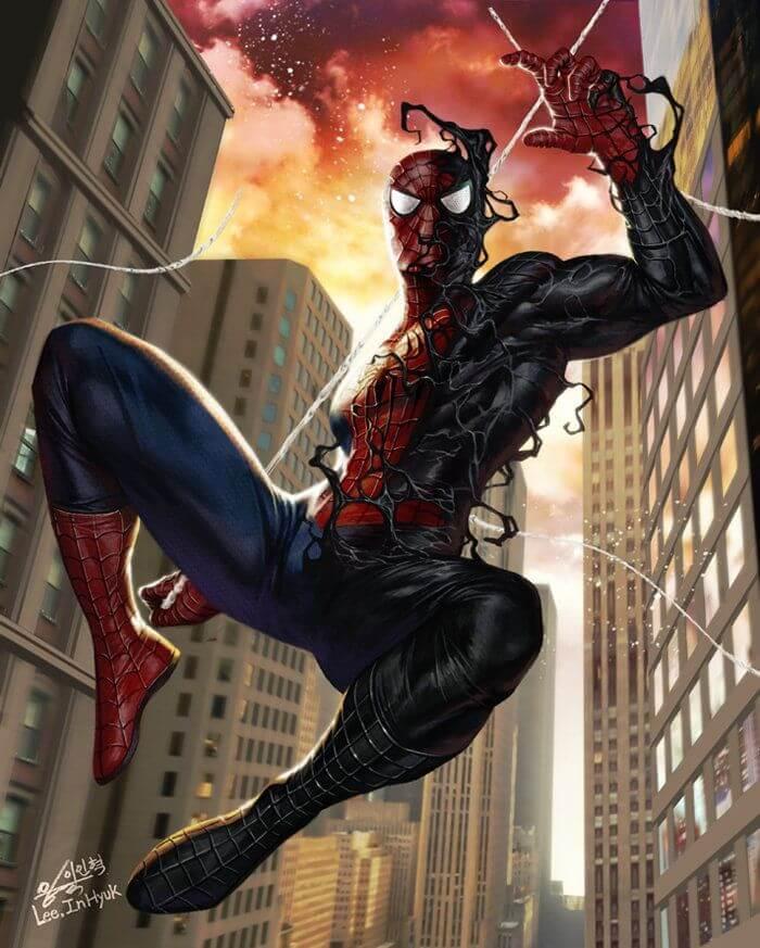 Spider-Man, Человек-паук - самые популярные и красивые арт картинки 12