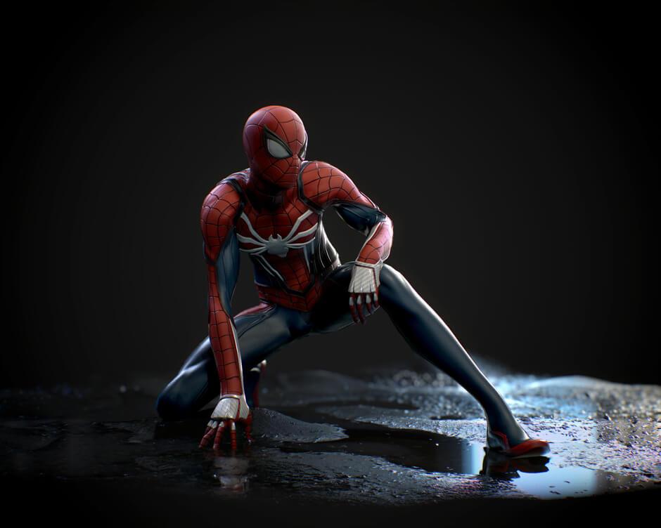 Spider-Man, Человек-паук - самые популярные и красивые арт картинки 9