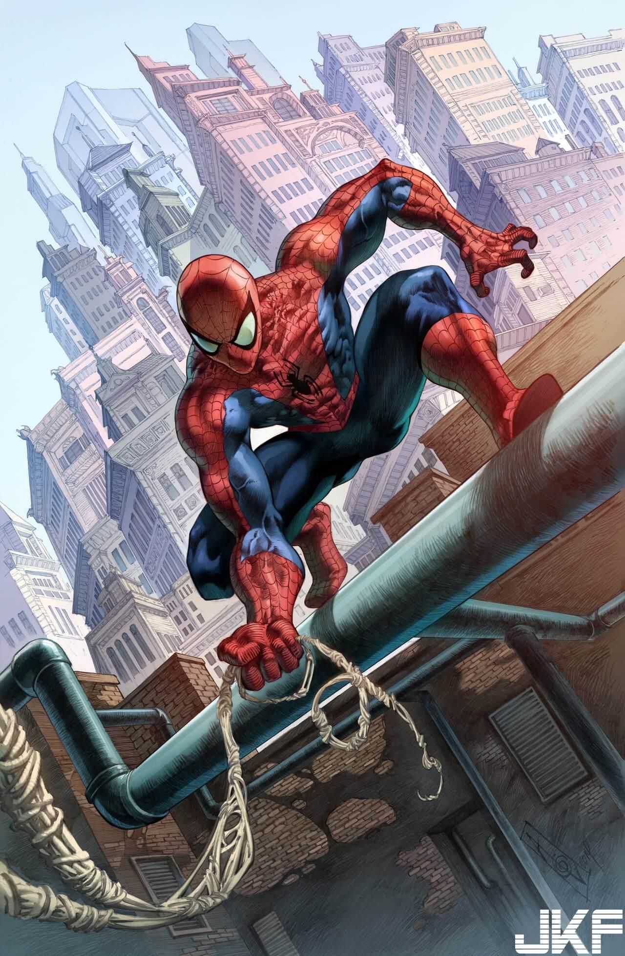 Spider-Man, Человек-паук - самые популярные и красивые арт картинки 5