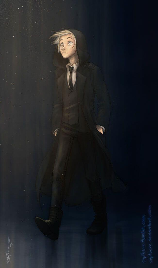 Драко Малфой - красивые и прикольные арты, картинки 2
