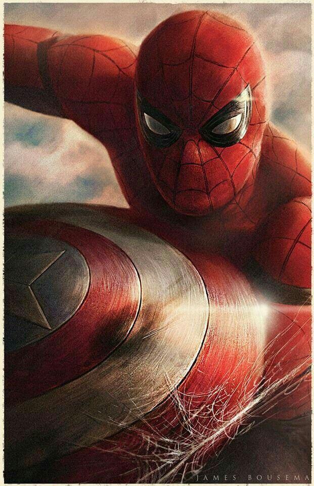 Spider-Man, Человек-паук - самые популярные и красивые арт картинки 3