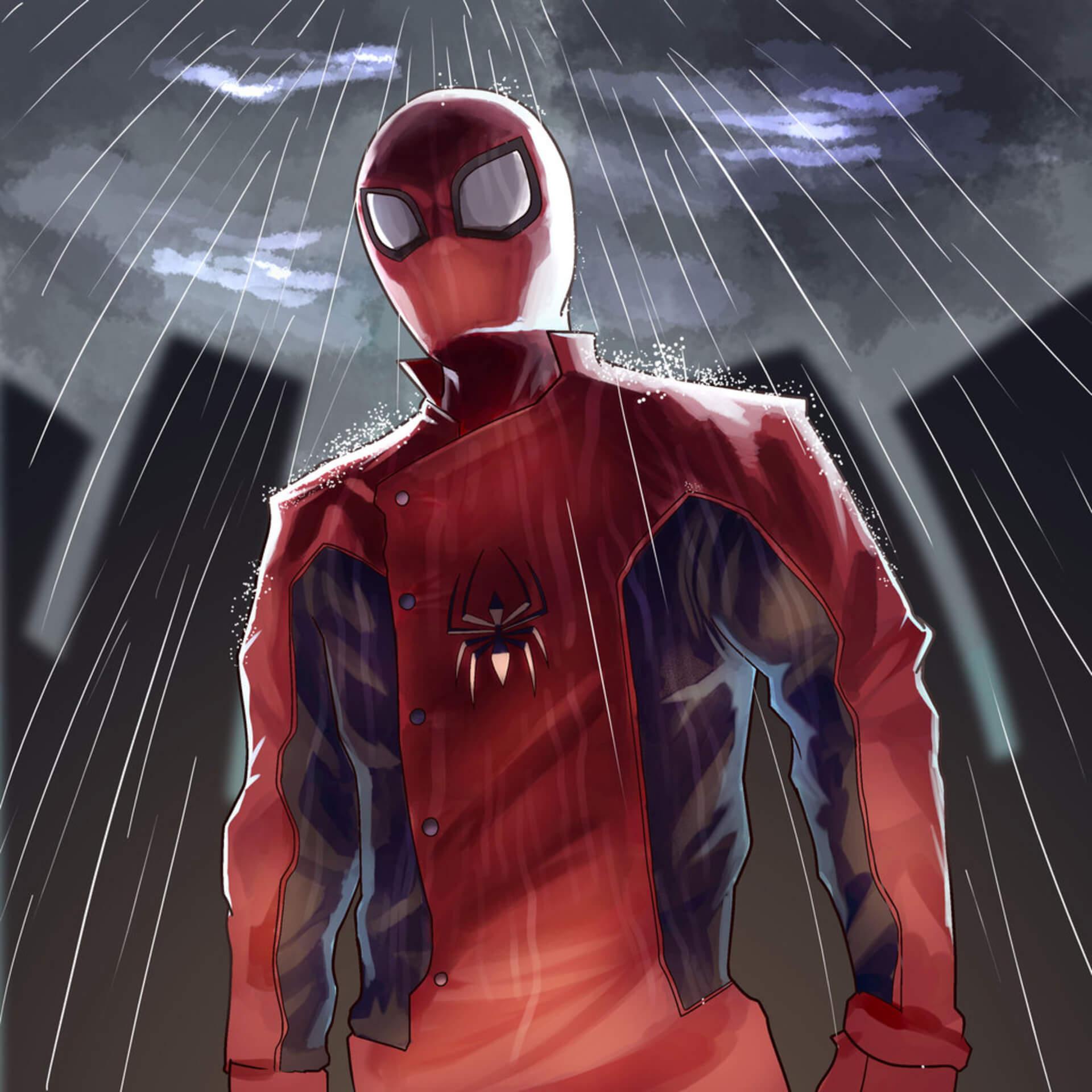 Spider-Man, Человек-паук - самые популярные и красивые арт картинки 8