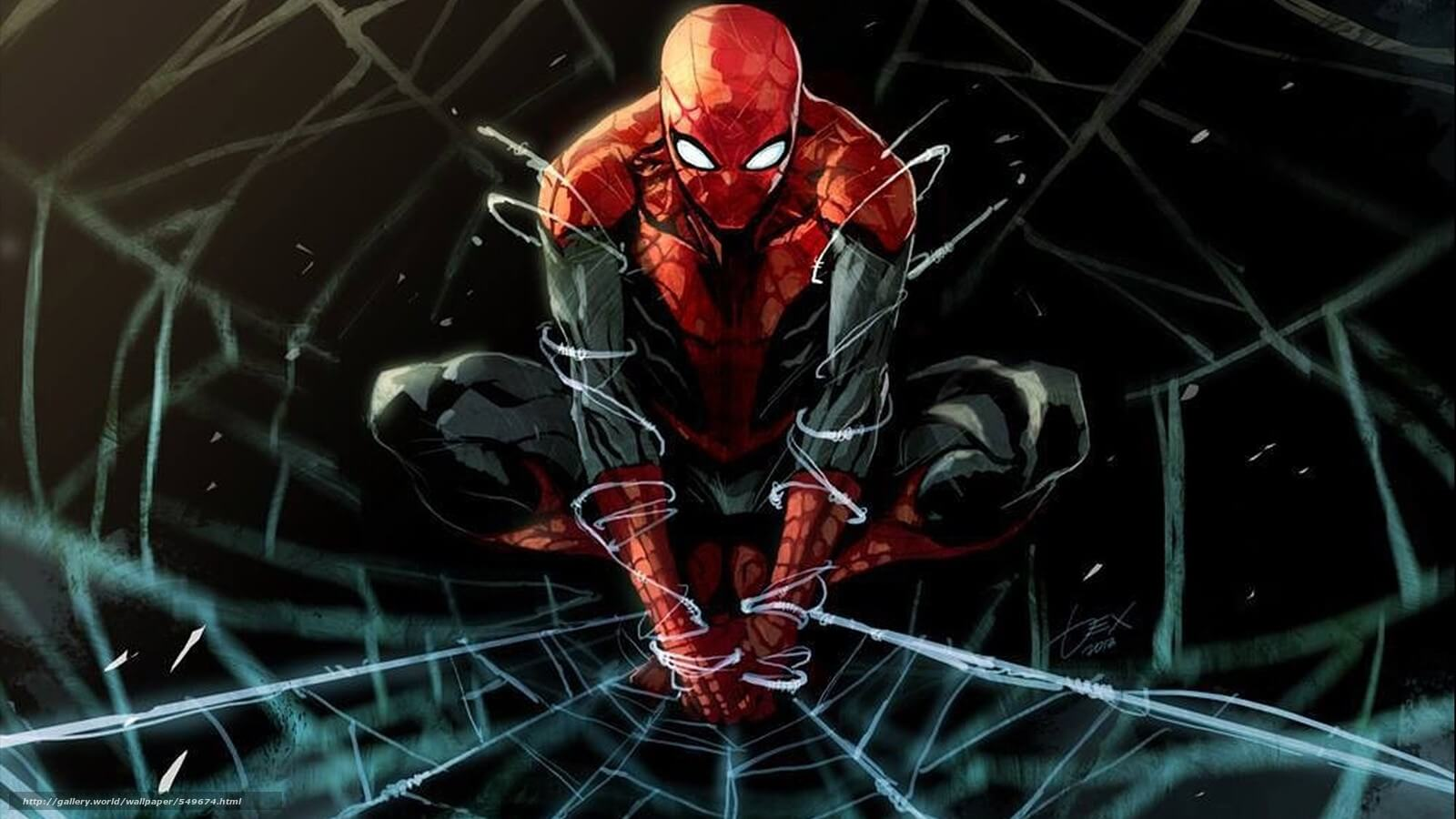 Spider-Man, Человек-паук - самые популярные и красивые арт картинки 6