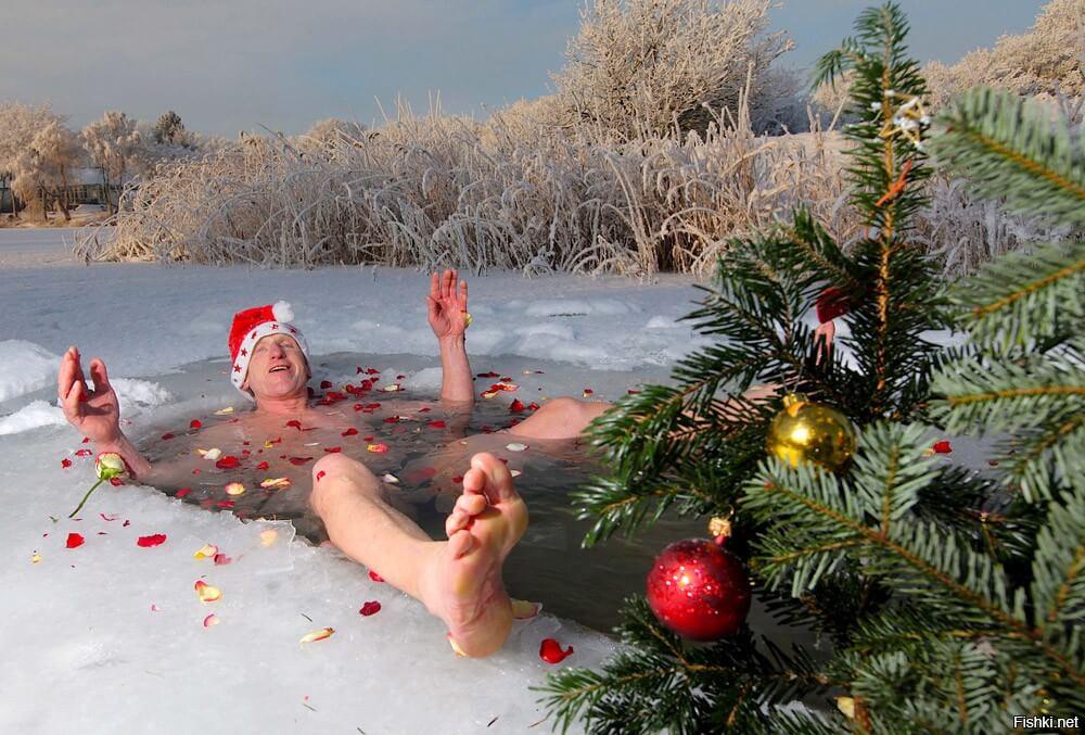 Прикольные и веселые картинки про Новый год - забавная подборка 6