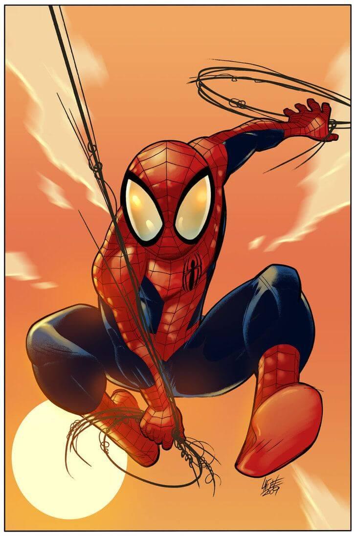 Spider-Man, Человек-паук - самые популярные и красивые арт картинки 4