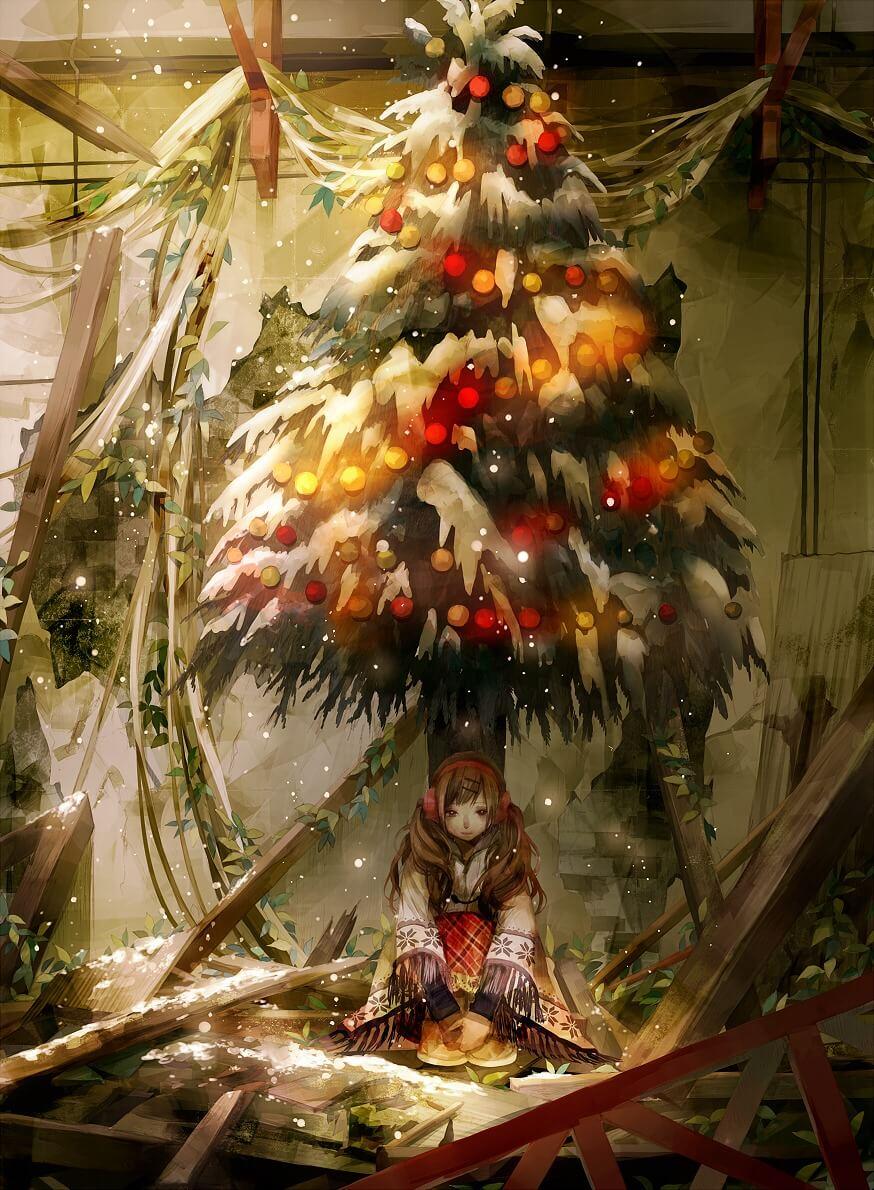 Красивые и прикольные Новогодние арты - коллекция изображений 4
