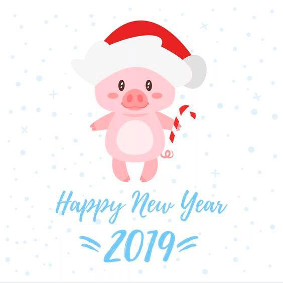 Самые лучшие картинки с Новым 2019 годом - поздравления и открытки 1