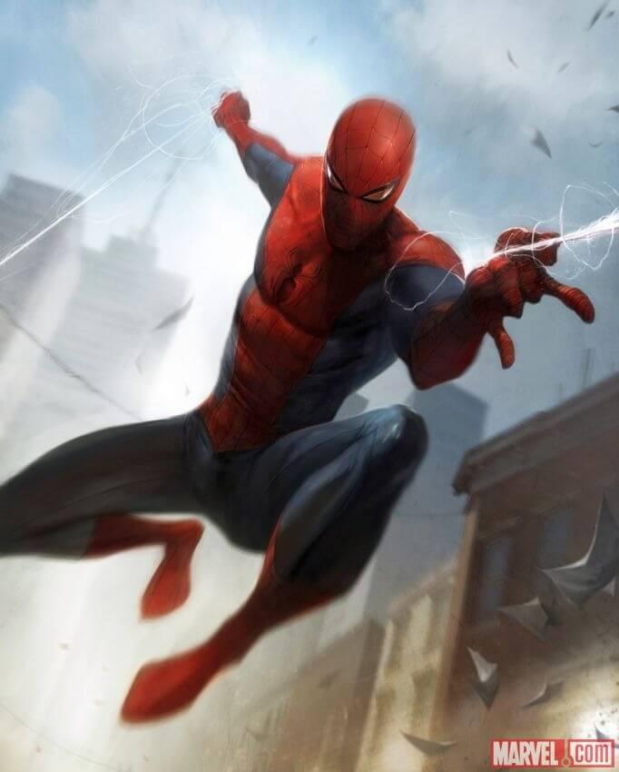 Spider-Man, Человек-паук - самые популярные и красивые арт картинки 23