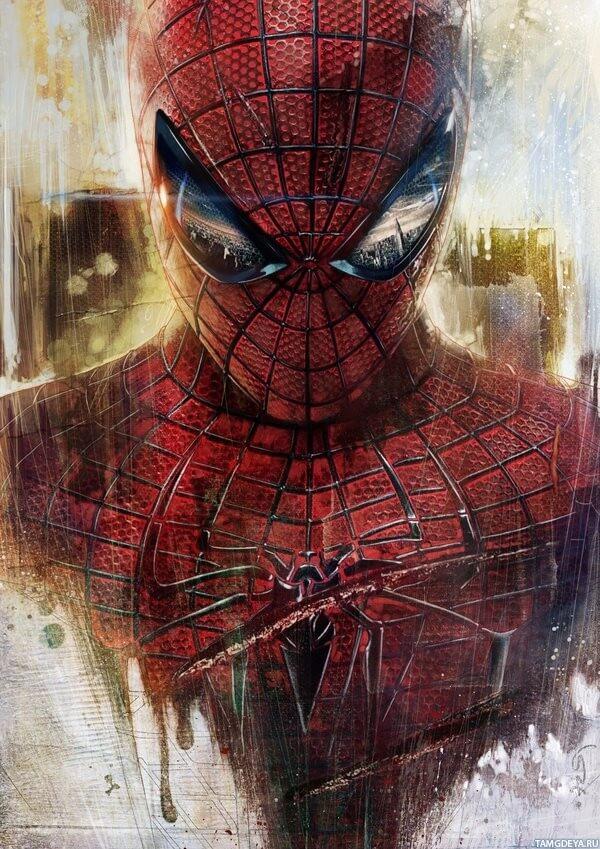 Spider-Man, Человек-паук - самые популярные и красивые арт картинки 22