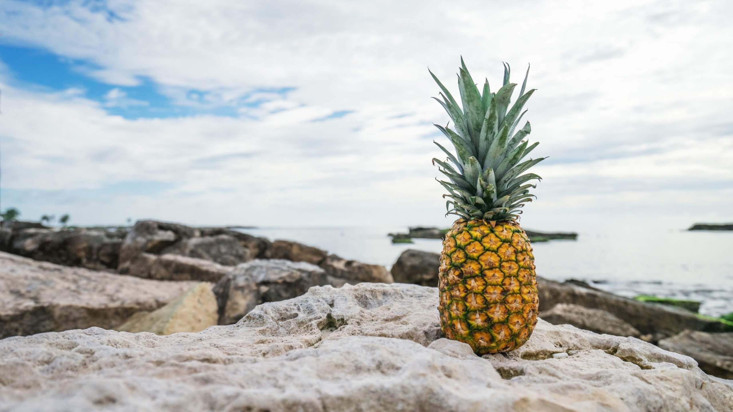 Красивые и прикольные картинки, обои ананаса - подборка 2018 9