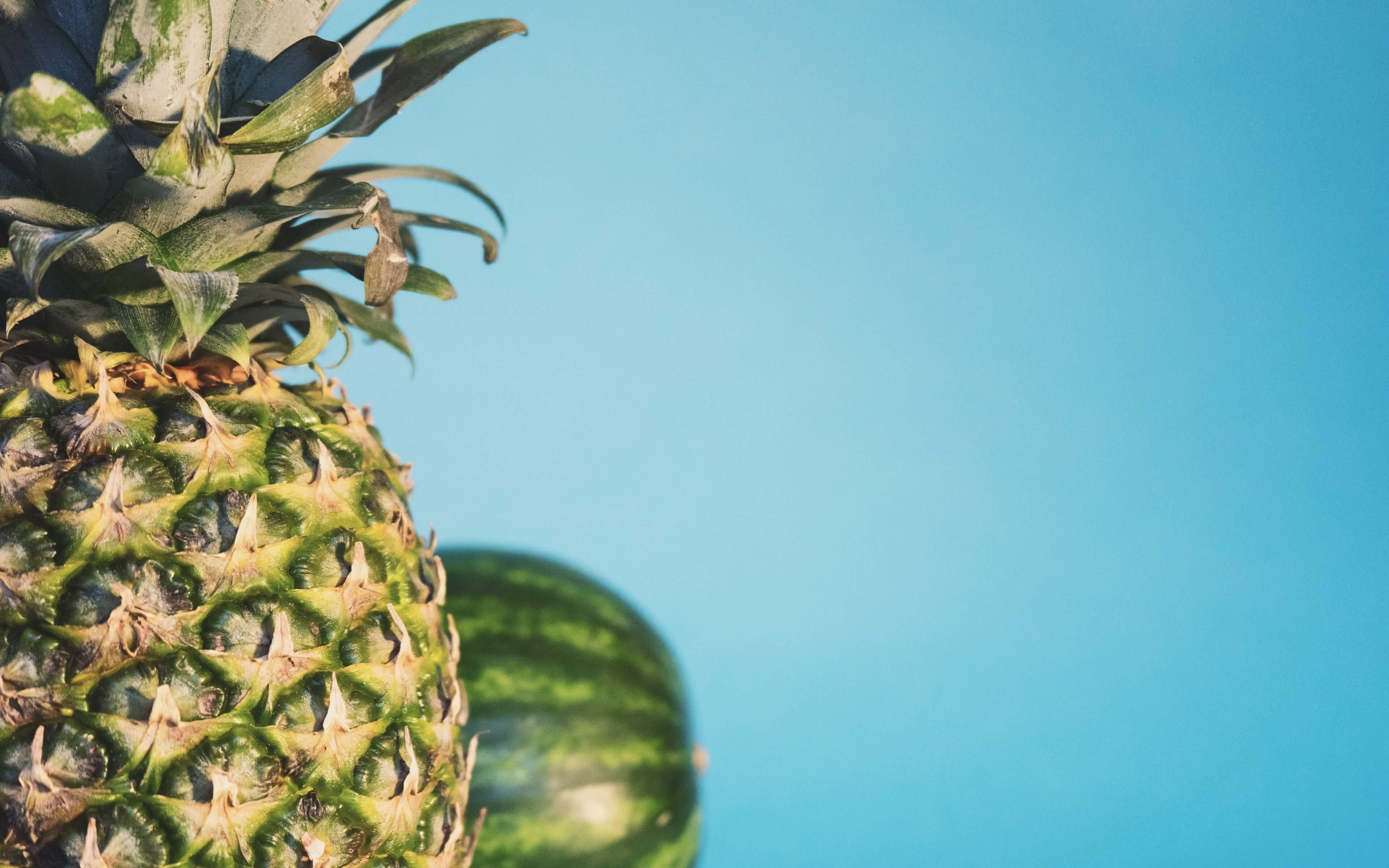 Красивые и прикольные картинки, обои ананаса - подборка 2018 8