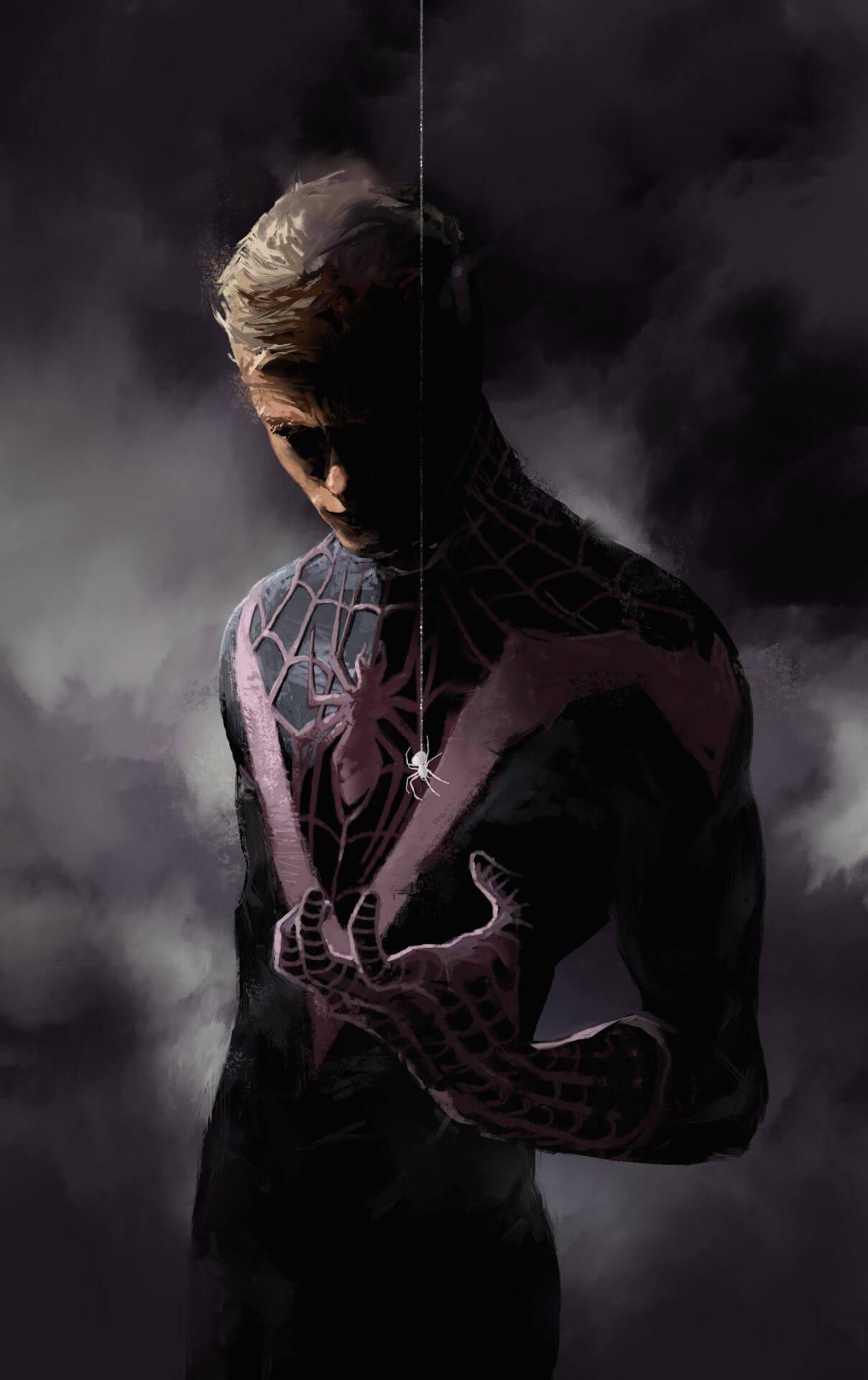 Spider-Man, Человек-паук - самые популярные и красивые арт картинки 13
