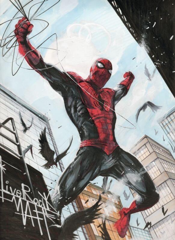 Spider-Man, Человек-паук - самые популярные и красивые арт картинки 14