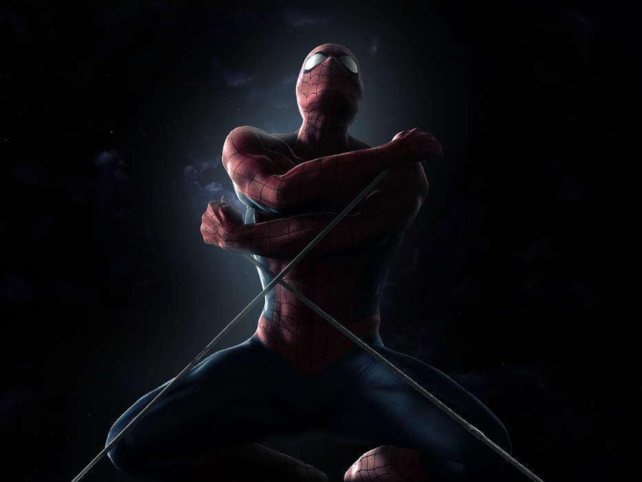 Spider-Man, Человек-паук - самые популярные и красивые арт картинки 15