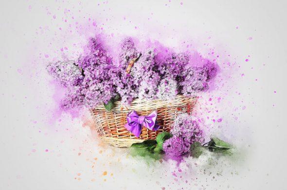 """Красивые картинки и фотографии """"Корзина цветов"""" - подборка 9"""