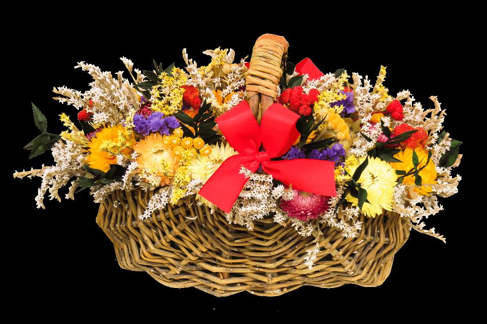 """Красивые картинки и фотографии """"Корзина цветов"""" - подборка 10"""