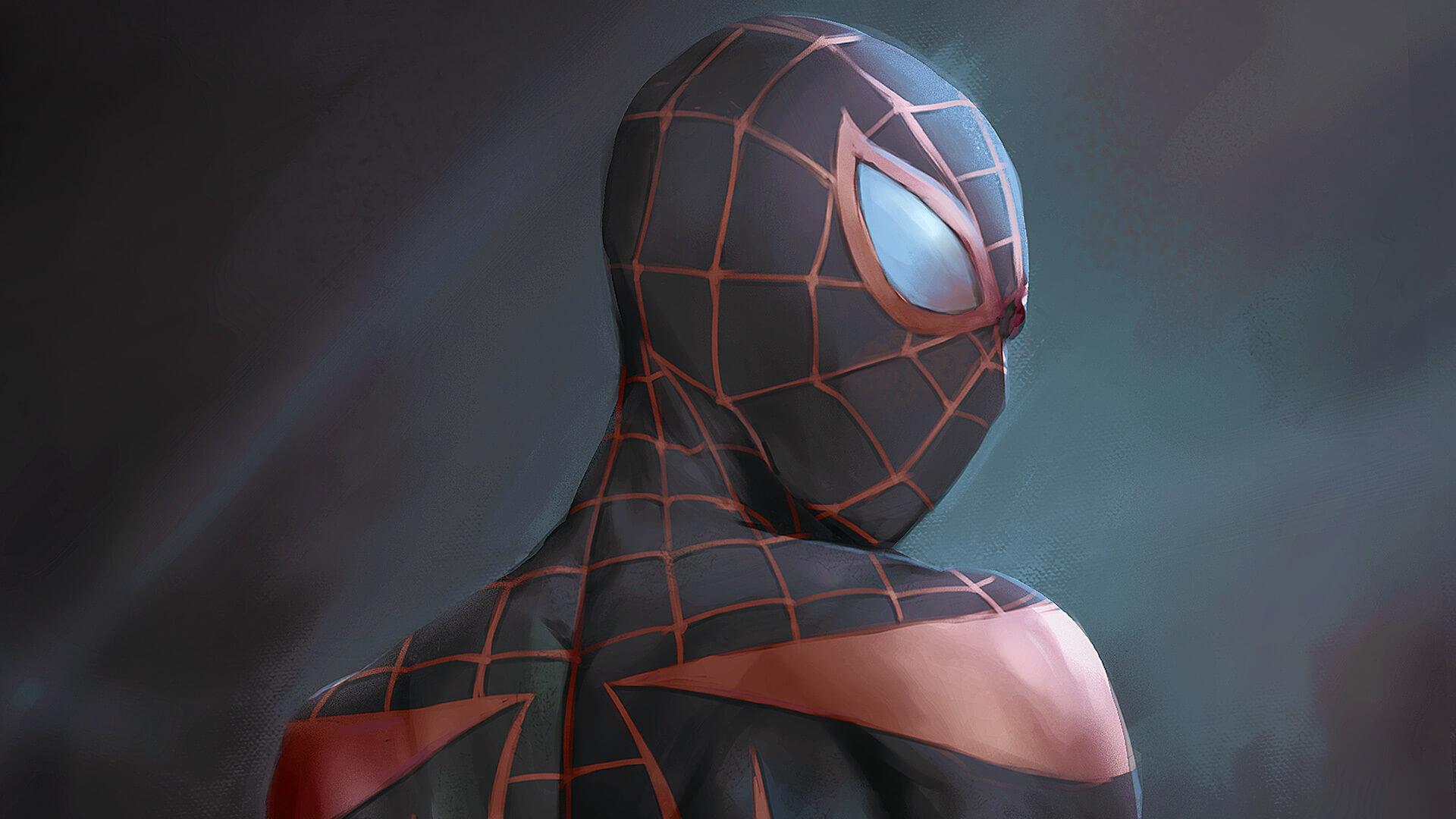 Spider-Man, Человек-паук - самые популярные и красивые арт картинки 18