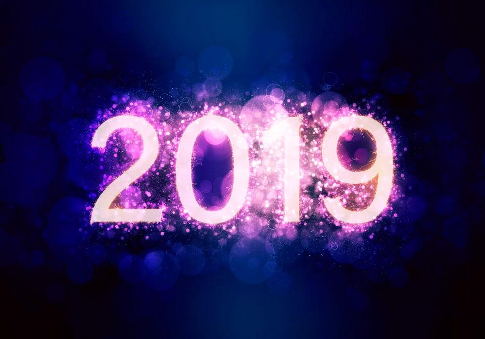 Самые лучшие картинки с Новым 2019 годом - поздравления и открытки 10