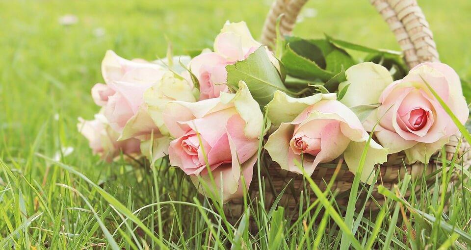 """Красивые картинки и фотографии """"Корзина цветов"""" - подборка 18"""
