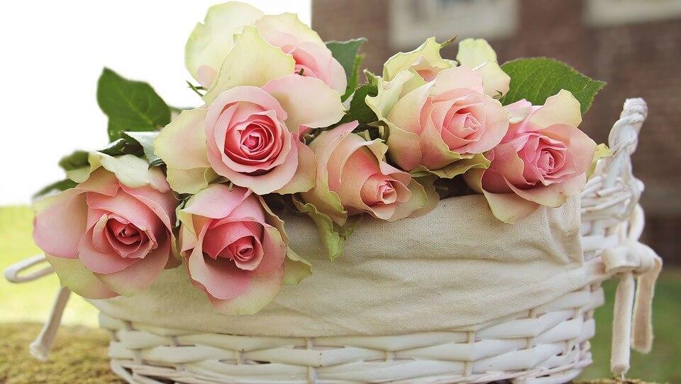 """Красивые картинки и фотографии """"Корзина цветов"""" - подборка 21"""