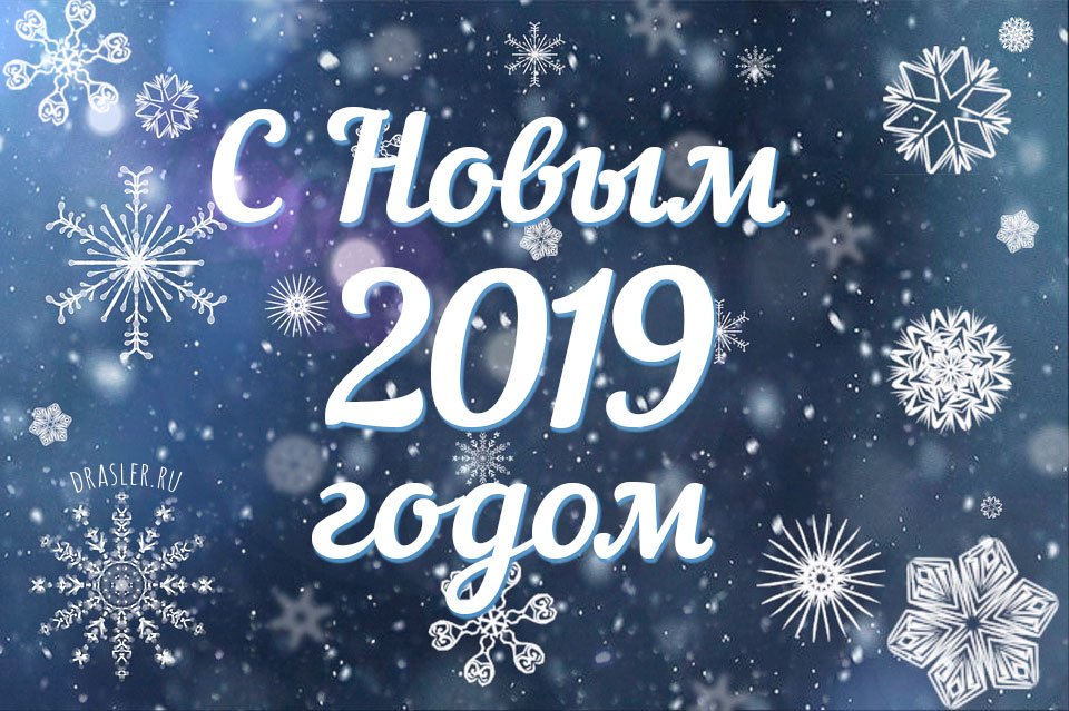 Самые лучшие картинки с Новым 2019 годом - поздравления и открытки 11