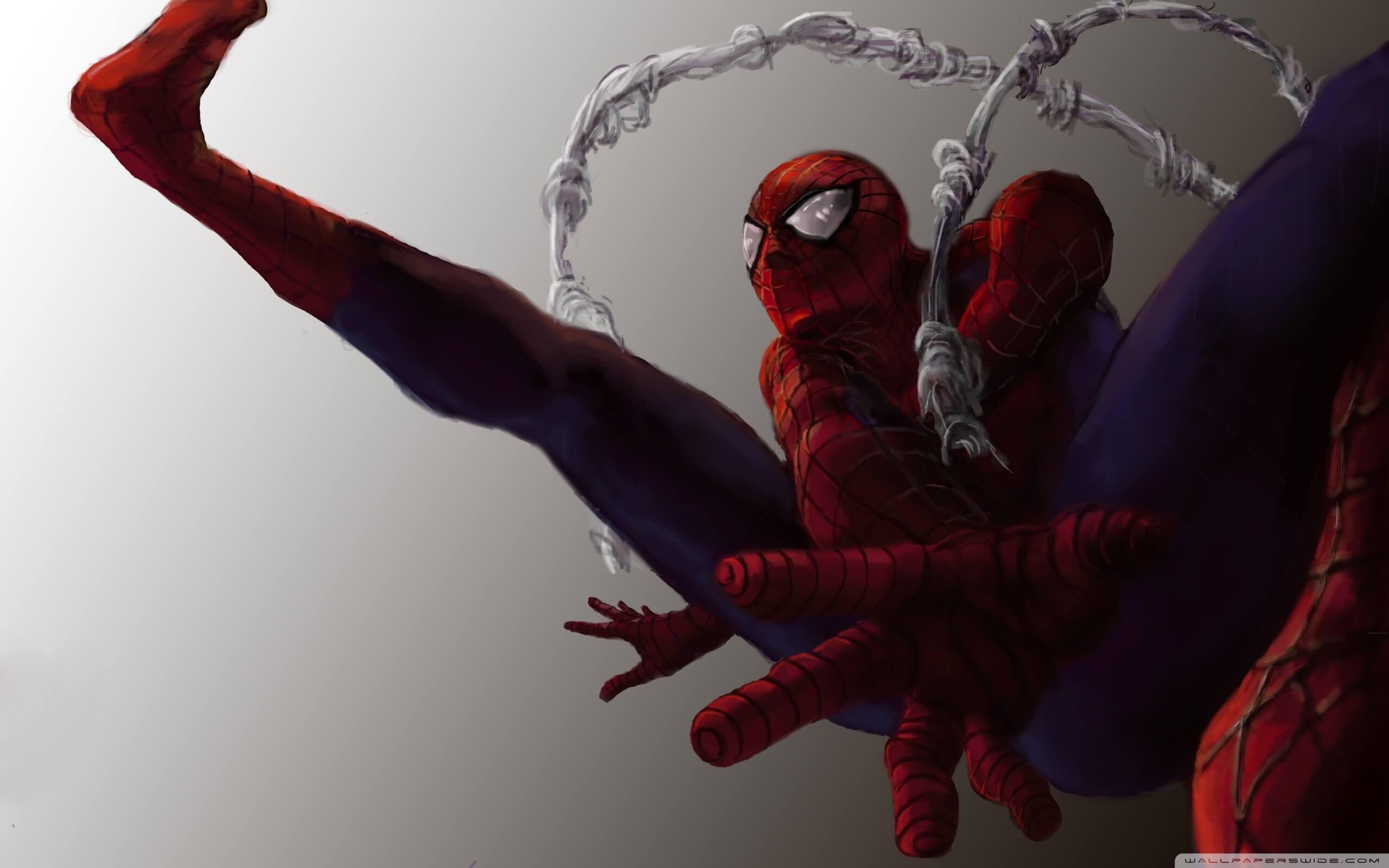 Spider-Man, Человек-паук - самые популярные и красивые арт картинки 24