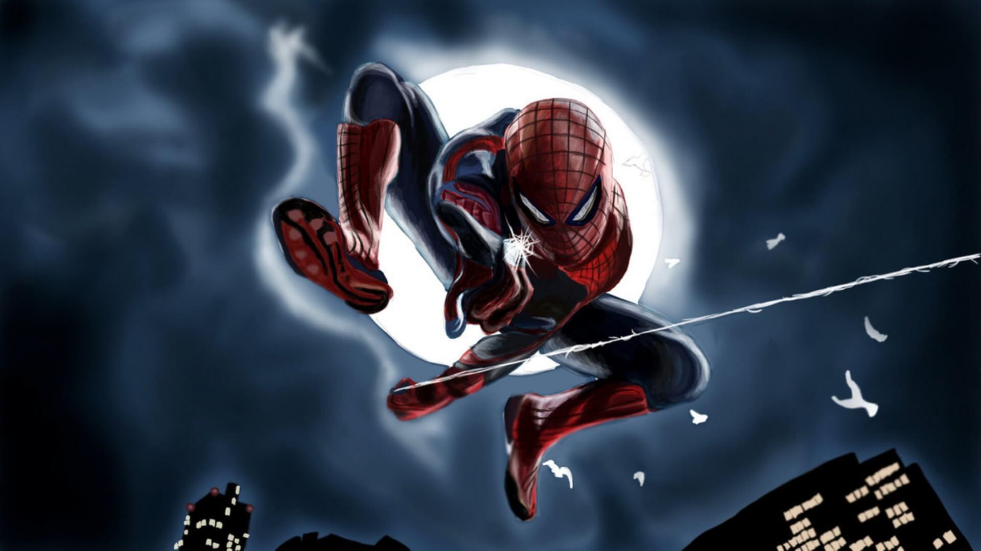Spider-Man, Человек-паук - самые популярные и красивые арт картинки 25
