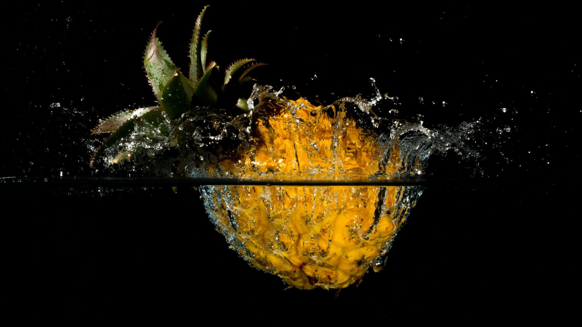 Красивые и прикольные картинки, обои ананаса - подборка 2018 18