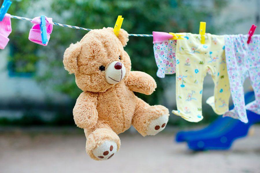 Как можно почистить или постирать детскую игрушку 1