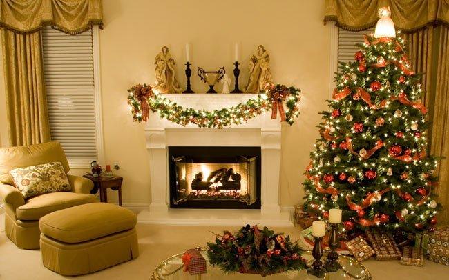 Как украсить новогоднюю комнату своими руками - простые советы 1